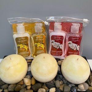 April Bath & Shower Travel Sets